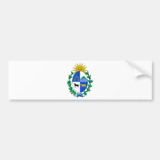 Uruguay Coat of Arms Bumper Stickers