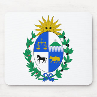 Uruguay Coat of Arms Mouse Pad