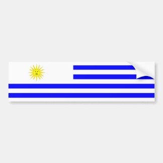 uruguay country flag nation symbol bumper sticker