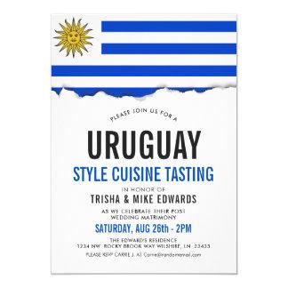 Uruguay Cuisine   Party Flag Invite