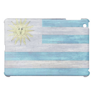 Uruguay distressed flag case for the iPad mini
