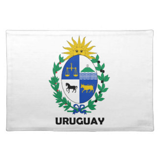 URUGUAY - emblem / flag / coat of arms / symbol Placemat