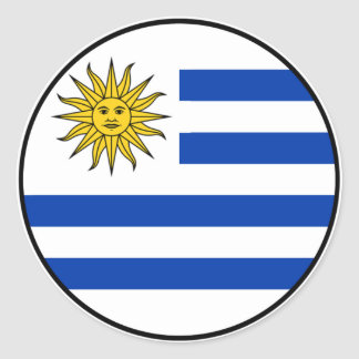 Uruguay Euro Sticker