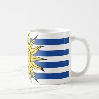 Uruguay flag coffee mug