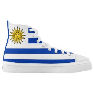 Uruguay Flag High Tops