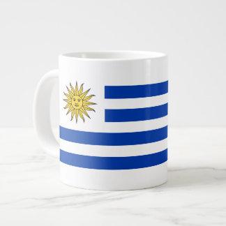 Uruguay Flag Large Coffee Mug