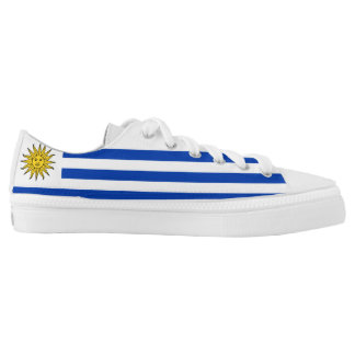 Uruguay Flag Low Tops