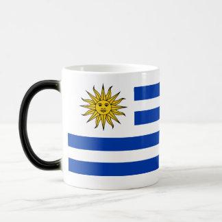 Uruguay Flag Magic Mug