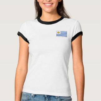 Uruguay Flag + Map T-Shirt