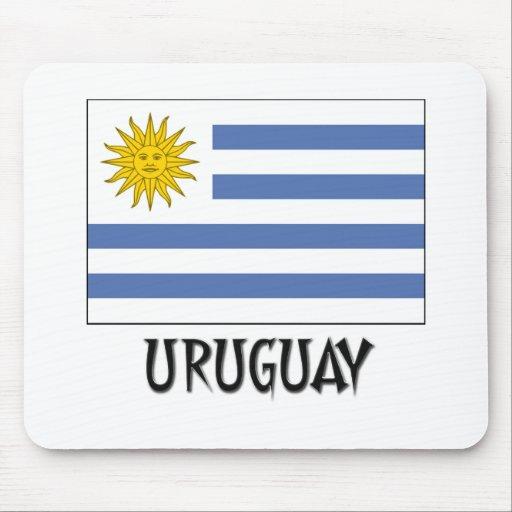Uruguay Flag Mouse Mat