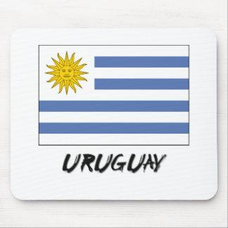 Uruguay Flag Mouse Mats