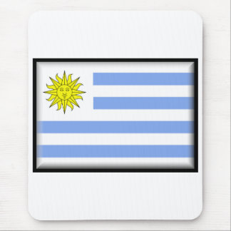 Uruguay Flag Mouse Mat