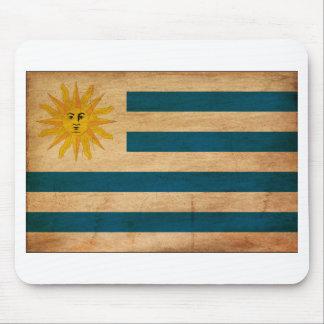 Uruguay Flag Mouse Pad