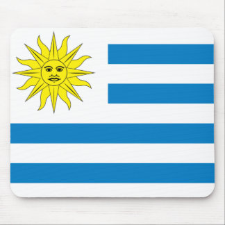 Uruguay Flag Mouse Pad