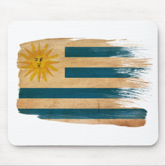 Uruguay Flag Mousepads