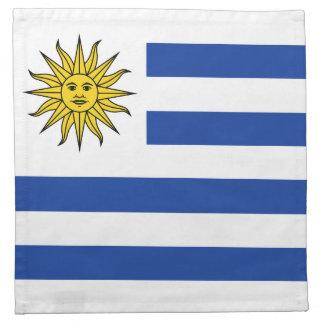 Uruguay Flag Napkin