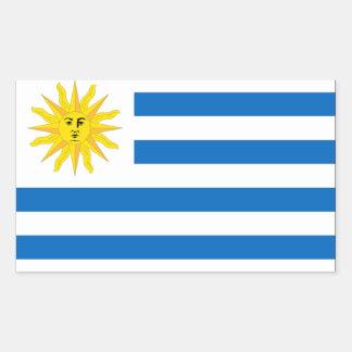 Uruguay Flag Rectangular Sticker