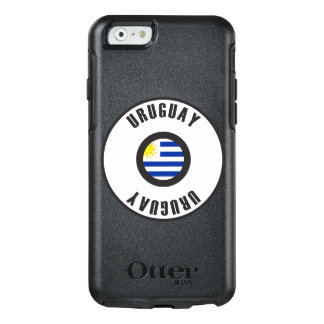 Uruguay Flag Simple OtterBox iPhone 6/6s Case