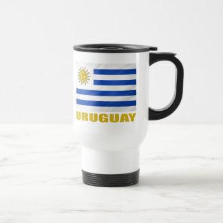 Uruguay Flag Travel Mug