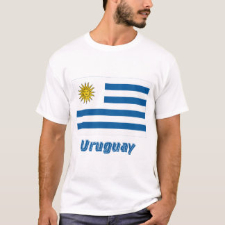 Uruguay Flag with Name T-Shirt