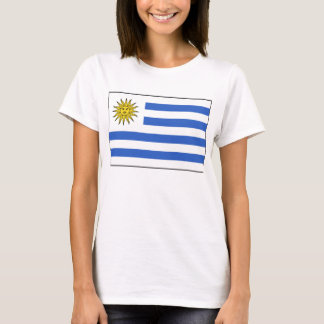 Uruguay Flag x Map T-Shirt