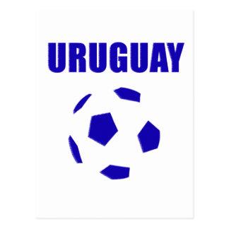 Uruguay futbol/futebol T-Shirts Postcard
