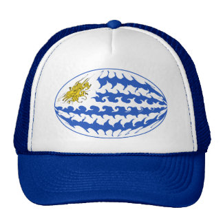 Uruguay Gnarly Flag Hat