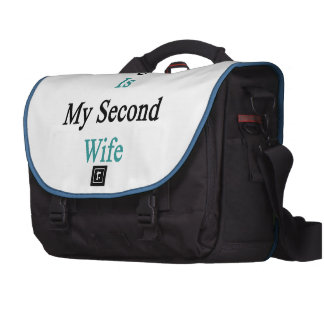 Uruguay Is My Second Wife Computer Bag