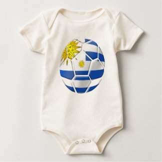 Uruguay La Celeste Uruguayan soccer fans gifts Baby Bodysuit