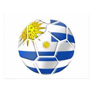 Uruguay La Celeste Uruguayan soccer fans gifts Postcard