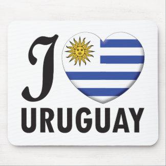 Uruguay Love Mousepad