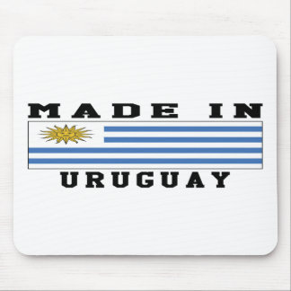 Uruguay Made In Designs Mouse Pad