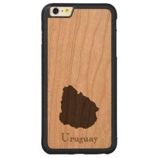 Uruguay Map iPhone 6 Plus Case