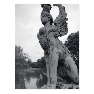 Uruguay, Montevideo, Barrio Prado, mythological Postcard
