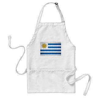 Uruguay National Flag Standard Apron