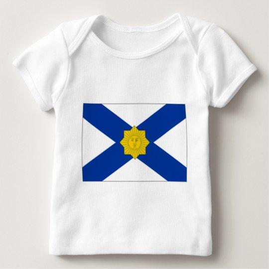 Uruguay Naval Jack Baby T-Shirt