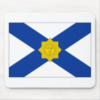 Uruguay Naval Jack Mouse Pad