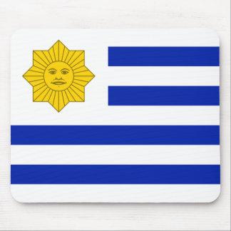 Uruguay (Oribe), United States flag Mouse Pads