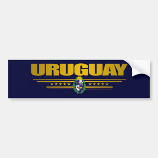 """""""Uruguay Pride"""" Bumper Sticker"""