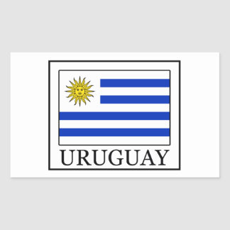 Uruguay Rectangular Sticker