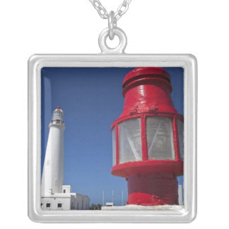 Uruguay, Rocha Department, La Paloma. Cabo Santa 2 Silver Plated Necklace