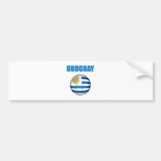Uruguay Socccer 2010 T-shirts Bumper Sticker