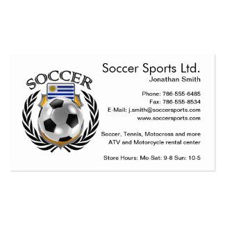 Uruguay Soccer 2016 Fan Gear Pack Of Standard Business Cards