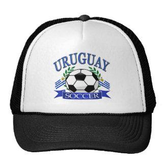 Uruguay soccer ball designs trucker hat