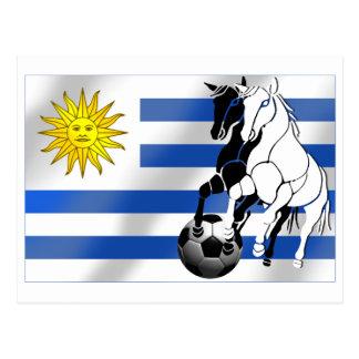 Uruguay soccer Charruas 2010 futbol fans gifts Post Card