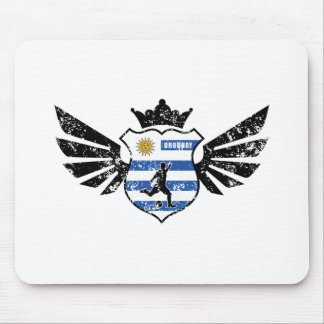 Uruguay soccer mouse pad