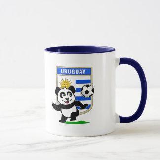 Uruguay Soccer Panda Mug