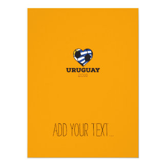 Uruguay Soccer Shirt 2016 17 Cm X 22 Cm Invitation Card