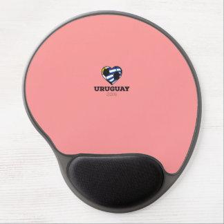 Uruguay Soccer Shirt 2016 Gel Mouse Pad