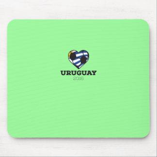 Uruguay Soccer Shirt 2016 Mouse Pad